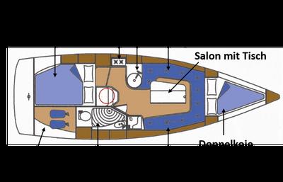Mantra 28 Skizze Innenraum